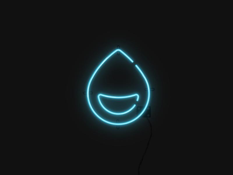 Neon Sign identity graphic design brand logo design