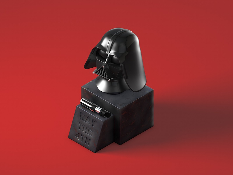 May the 4th light saber darth vader star wars nael may the 4th may the force