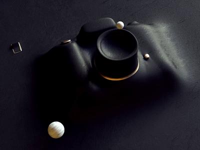 camera animation design everyknowandthen nael vacuum forming switch marbles hdrilink c4d octane 3d photo camera