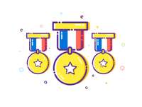 Olympic Medal - Sticker Mule