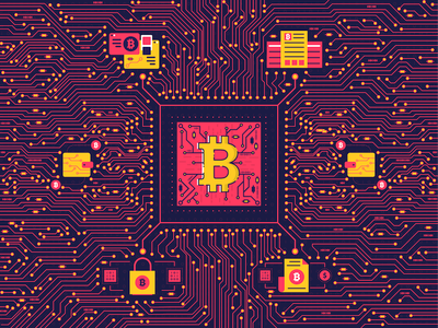 Bitcoin bitcoin symbol background digital money electronic currency mining coin gold crypto cryptocurrency