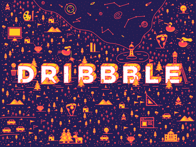Dribbble Playground playoff stickermule dribbble
