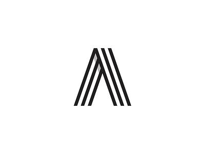 A 2.1 White monogram logo a logo