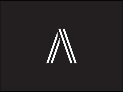 A 2.1 Black monogram logo a logo