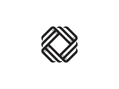 O cryptocurrency crypto banking bank monogram logo o logo