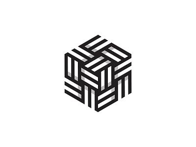 Hexagon 1 monogram hex hexagon logo