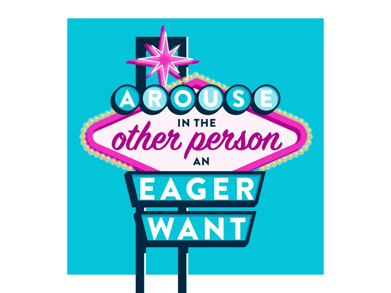 #3: Arouse in the other person an eager want vintage vector signage typography illustration how to win friends