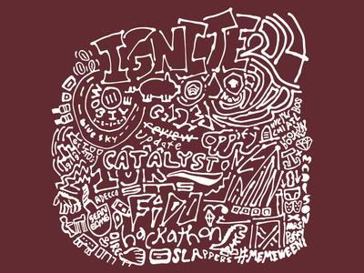 2014 Ignite Shirt Design