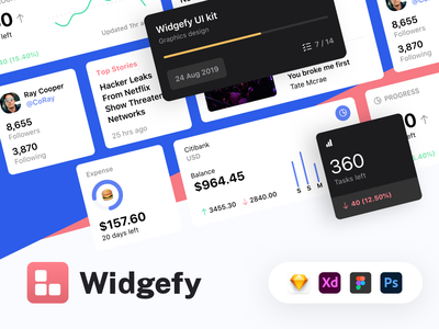 Widgefy Multipurpose iOS Widgets UI Pack freebies freebie free template mobile app design mobile app ios app ios widget widgets widget ios14homescreen ios14 ios ux ui kit ui app