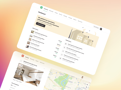 Roomsfy UI kit for apartments renting and booking real estate template theme apartments apartment rent home booking app booking airbnb design ux management ui kit saas ui admin dashboard app