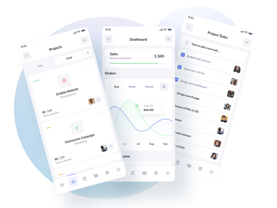 SaaS UI Kit Design - BetaCRM xd figma sketchapp inspiration ui design mobile app ios crm software saas website saas design crm project management ux saas ui ui kit admin app dashboard