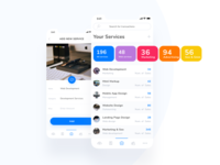 Payments tracking app design