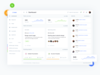Dashboard - Project Management UI Kit