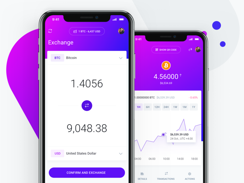 Cryptocurrency exchange screen ecommerce business ico exchange transaction invoice fintech charts budget dashboard bank wallet banking finance ethereum blockchain bitcoin crypto market cryptocurrency
