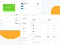 Bank account details - IOFinance UI kit