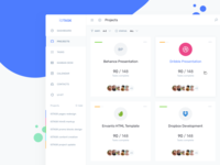 IOTask UI Kit - Projects grid directory