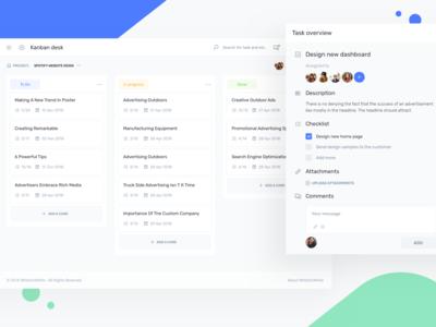 Kanban Desk - IOTask Web UI Kit