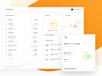 IOFinance UI Kit - Bank Account Details and Report