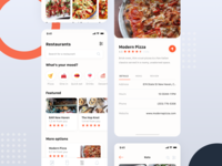 Mobile Application - Restaurants App