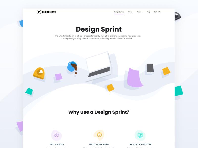 Website Design - Checkmate Digital Design Sprint services website services service offering checkmate digital checkmate design sprint web design ux ui website design website