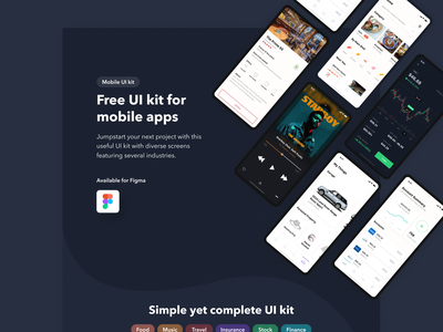 Free Checkmate iOS Mobile UI Kit daily ui mobile ui ui kit application mobile app app design dailyui mobile ui ux