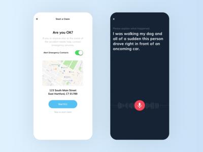 Mobile Design - Consumer Insurance