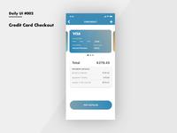 Dailyui 002 Credit Card Checkout