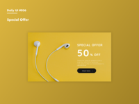 Daily UI #036 Special Offer