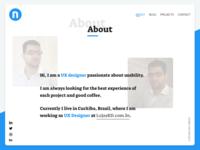 Portfolio - Step 2   About (WIP)