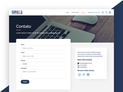 GRGIT - Contact Page page contact