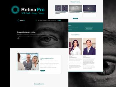 Site PWA RetinaPro