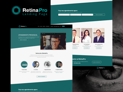Landing Page RetinaPro vuejs nuxt nuxtjs pwa spa landing