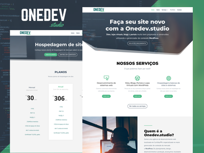 Website Onedev.studio wordpress web institucional site