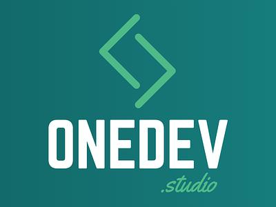 Logo Onedev.studio branding web logo