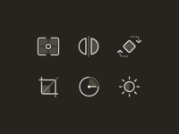 Camera and Images - Icon Set