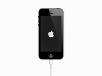 CSS iPhone (Only using two HTML tags)