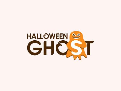 Halloween ghost logo halloween costumes logo type minimalist flat halooween 2021 halloween design halloween logo halloween ghost halloween ghost logo ghost vector graphic design branding design logo inspiration typography logo