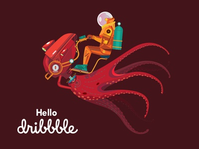 Dribbble Firstshot