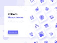 Unicons Monochrome