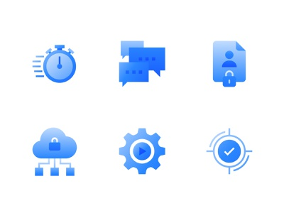 Playment   Features Icons 2 annotation machinelearning ai cloud privacy data vector branding iconography design icons icon