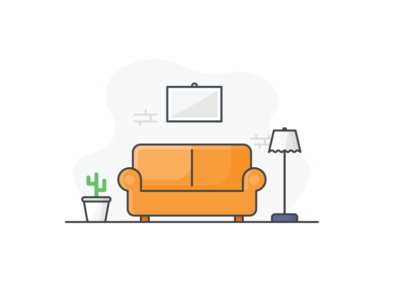 Category Concepts  Home \u0026 Decor Icon by Jemis Mali on Dribbble