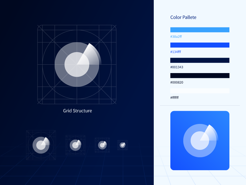 Icon Grid Structure by Jemis Mali for Playment on Dribbble