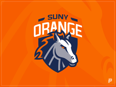 Suny Orange CC Colts Logo Update mascot logo sports logo team logo mascot branding logo
