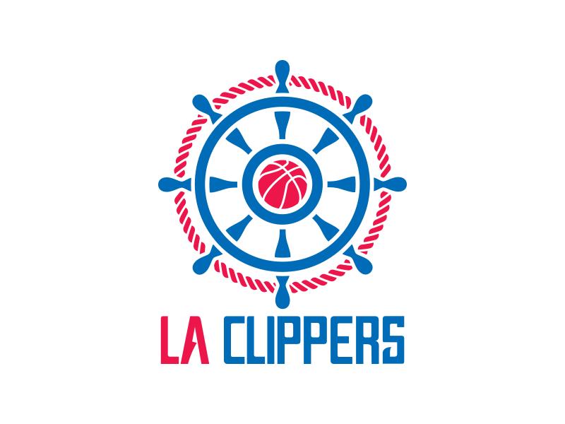 Los Angeles Clippers Logo Rebrand nautical ship clipper team nba basketball sports branding rebrand logo clippers los angeles
