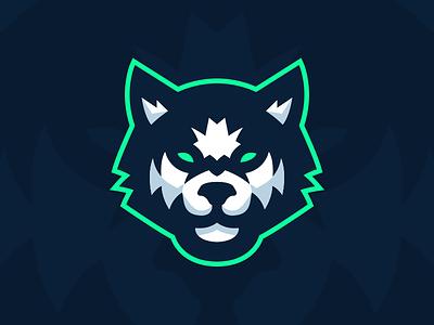 Husky Mascot Logo illustration sports logo team logo logo branding brand mascot husky