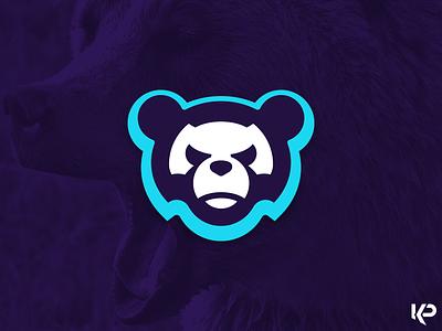 Bear Logo team logo logo illustration bear branding