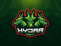 Hydra Mascot Logo