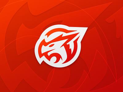 Dragon Logo dragon brand gaming esports design illustrator team logo branding logo