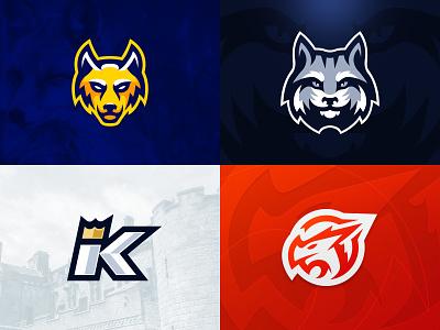 Top 4 of 2018 top top 4 vector mascot logo sports logo gaming esports illustrator design brand illustration team logo mascot branding logo