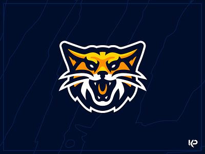 Wildcats Mascot Logo wildcats mascot logo sports logo design brand illustration team logo mascot branding logo